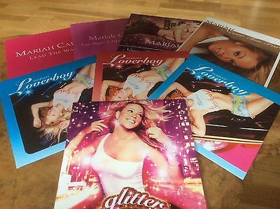 Mariah Carey - Glitter - Press Kit W/Promo Album & Singles Pic Card Sleeves.RARE • 395£