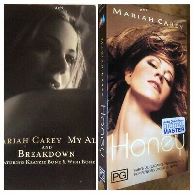 Mariah Carey - Honey / My All - 1997/98 Picture Sleeve Videos .Extremely Rare • 75£