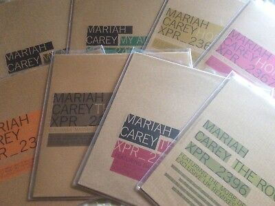 Mariah  Carey - Butterfly - UK Complete Vinyl Set Of 8 X 12  Promo Singles • 195£