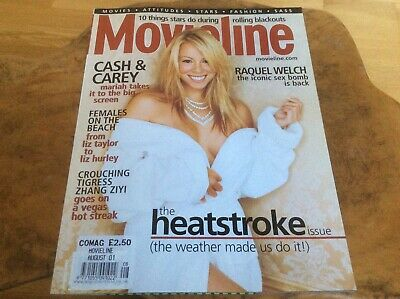 Mariah Carey - Glitter - Movieline USA Magazine August 2001. Mega Rare. • 25£