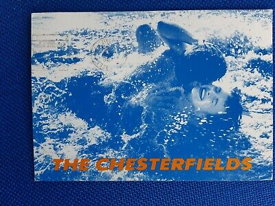 The Chesterfields Household Records Double Sided Promo Postcard C86 Indiepop • 0.99£