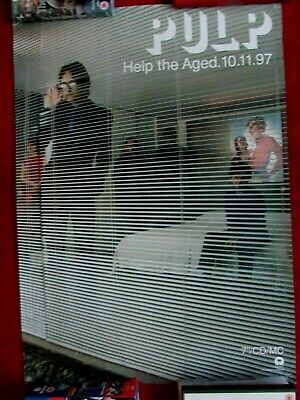 Pulp -help The Aged  10-11-97 • 10£
