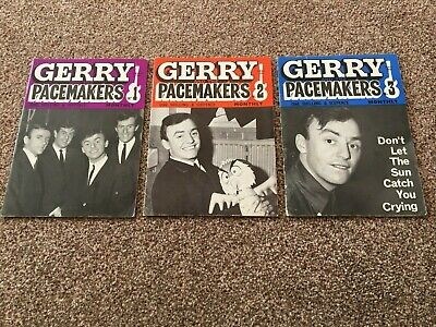 Gerry And The Pacemakers Monthly Magazine: Issues 1 To 3  • 15£