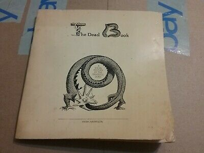 Grateful Dead Book 1973 Signed Hank Harrison Book W/45 Vg Rare Tattered Htf Vtg! • 148.16£