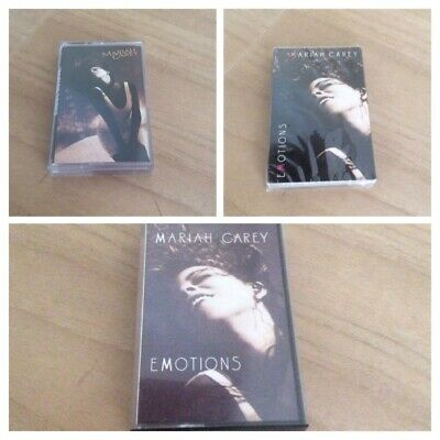 Mariah Carey - Emotions - Album & Singles Cassette Issues.....Extremely Rare • 35£