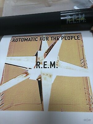 R.E.M. Paul Smith Poster Automatic For The People Limited Edition 165/300 • 40£
