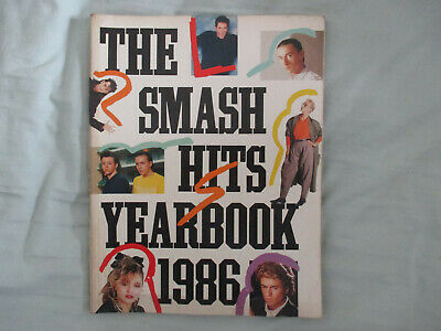 The Smash Hits Yearbook 1986. • 7.95£