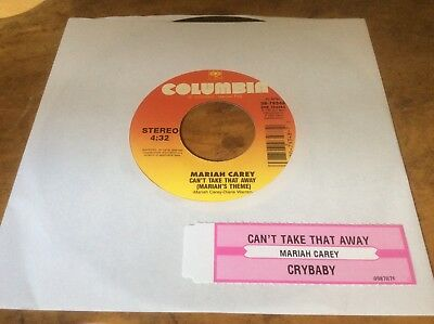 Mariah Carey - Can't Take That Away - USA 2000 7  Vinyl Single. Rare. • 20£