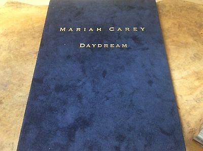 MARIAH CAREY - Daydream - Japanese Crushed Velvet Hardback Book Promo Only,RARE. • 395£