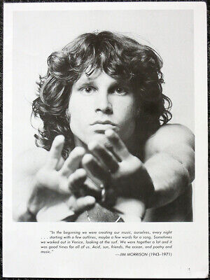 The Doors Poster Page . Jim Morrison . H79 • 7.99£