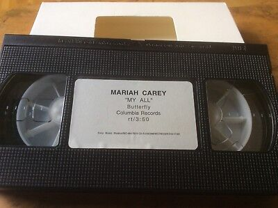 Mariah Carey - My All  - UK Promo Only Video. Extremely Rare. • 25£