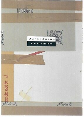 Duran Duran - Merry Christmas - Rare 1988 UK Fan Club Christmas Card  • 12.99£