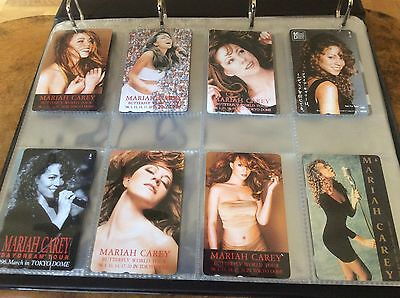 Mariah Carey - Phonecards - Japanese Only Set X 12 ...Mega Mega Rare. • 450£