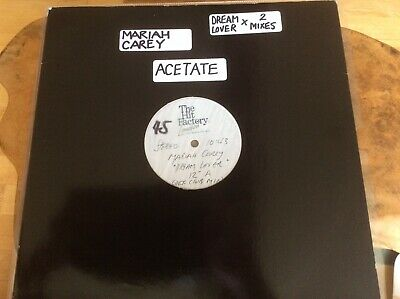 "Mariah Carey - Dreamlover - UK 12"" Acetate - Extremely Rare • 195£"