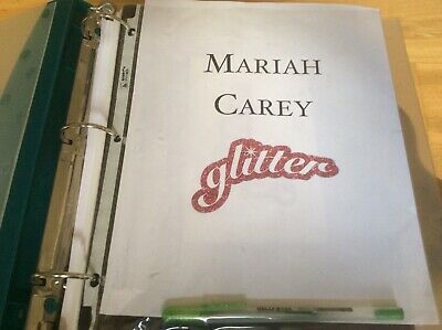 Mariah Carey - Glitter - A Magnificent Super Scare PROMO INFORMATION Folder. • 345£