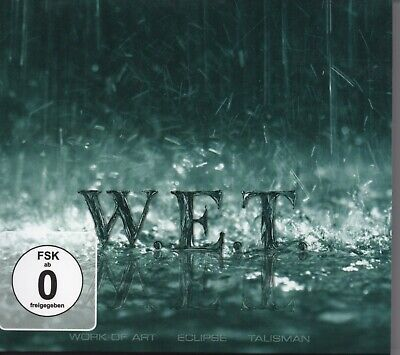 W.E.T. Debut Album Soto Journey Melodic Rock CD And DVD • 15£