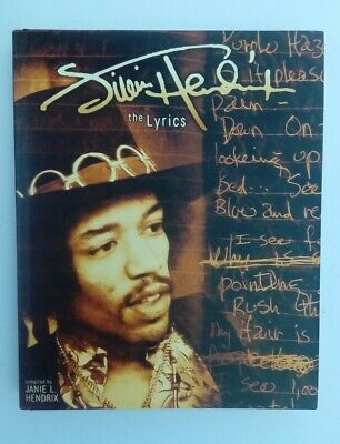 Jimi Hendrix The Lyrics Book • 7.99£