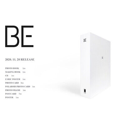 BTS BE Deluxe Edition CD+Photobook+Photocard+Etc+Tracking Number • 55.99£