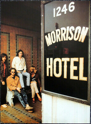 The Doors Poster Page . Jim Morrison . Morrison Hotel . H69 • 14.99£