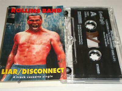 Henry Rollins Band - Liar / Disconnect Cassette Tape • 5.99£