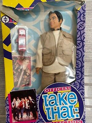 Take That Robbie Williams Official Pop Fashion Collector Doll Action Figure Toy • 6£