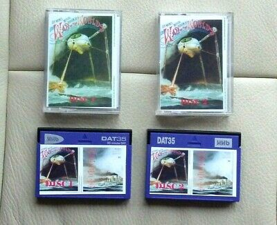 2 X DAT Tapes War Of The Worlds • 15.50£