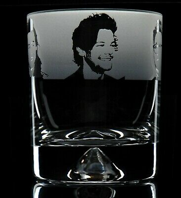 One Direction - Engraved Whisky Tumbler Glass | Gift - Present • 14.99£