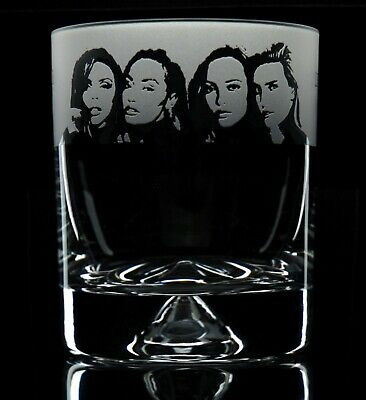 Little Mix - Engraved Whisky Tumbler Glass   Gift - Present • 14.99£