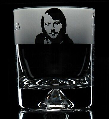 Abba - Engraved Whisky Tumbler Glass | Gift - Present • 14.99£