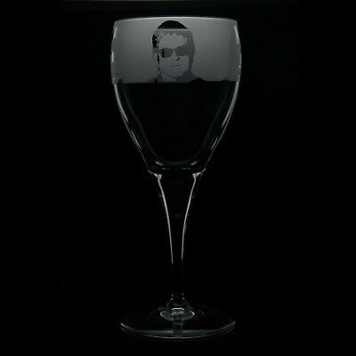 Elton John - Engraved Crystal Wine Glass | Gift - Present • 14.99£