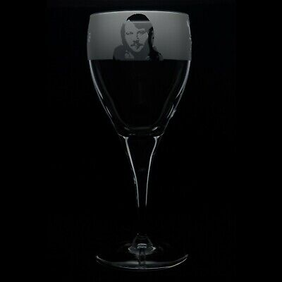 Abba - Engraved Crystal Wine Glass | Gift - Present • 14.99£