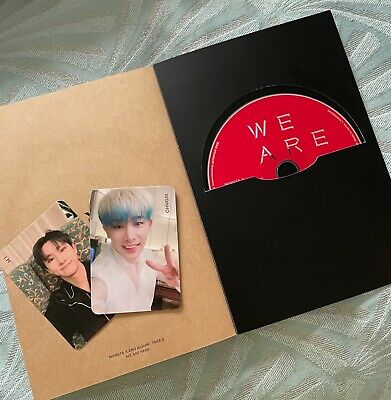 MONSTA X WE ARE HERE 2ND ALBUM: TAKE 2 (VERSION III) (KPOP) Never Played • 15£