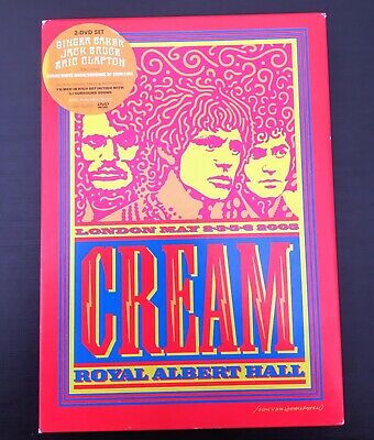 Cream Royal Albert Hall 2005 DvD Set • 5£