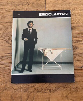 ERIC CLAPTON Money And Cigarettes Tour Programme 1983 • 6.90£