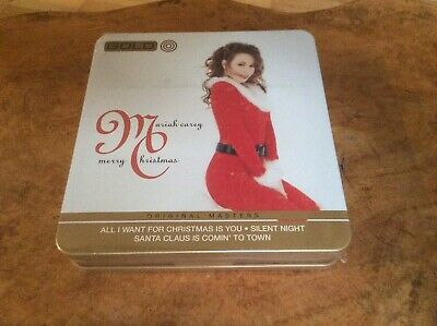 Mariah  Carey - Merry Christmas - 2008 Cd In Limited Edition Metal Box. Rare.S/S • 35£
