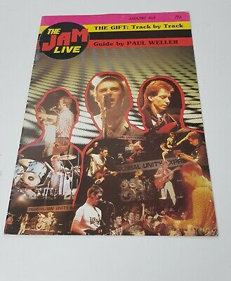 The Jam Live Rare The Gift Track By Track Guide By Paul Weller Amazing No.6 1982 • 10£