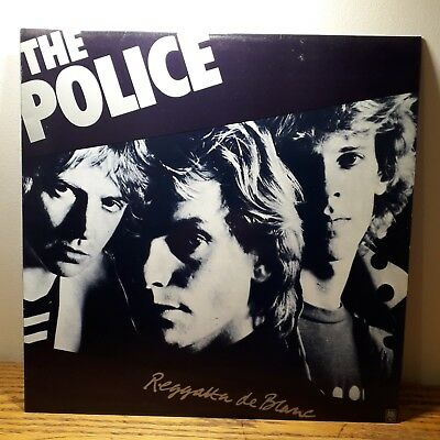 The Police Regatta De Blanc Vinyl Album 1979 AMLH 64792 Excellent Condition • 8.95£