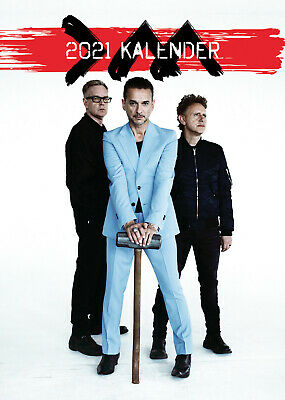 Depeche Mode  2021 A3 Poster Size Calendar New And Sealed + Free Uk Postage • 11.99£