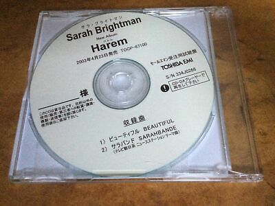 SARAH BRIGHTMAN - Beautiful - 2003 Japanese Promo-only 2-track EMI CD-R Acetate. • 75£