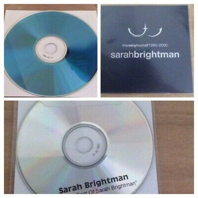 Sarah Brightman - The Very Best 1990 - 2000 - UK Promo Only CD-R. • 35£