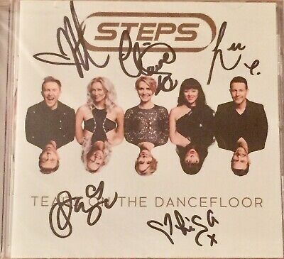 Steps - Tears On The Dancefloor-signed Cd Proof Provided -new & Sealed • 49.99£