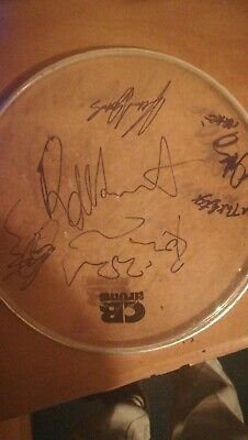 The Faces Fully Signed Super Rare Autographed Drum Skin... Stones Rod • 0.99£