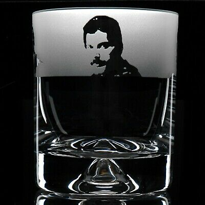 Queen - Engraved Whisky Tumbler Glass | Gift - Present | FREE SHIPPING • 14.99£