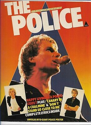 Sting / The Police - Screen Scene - Scarce Original 1980 Magazine  • 8.99£