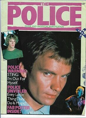 Sting / The Police - Frank And Unofficial... - Scarce Original 80s Magazine  • 8.99£