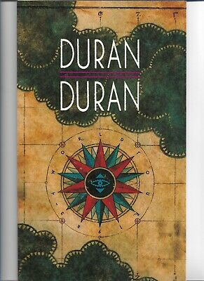 Duran Duran - 1983-84 World Tour - Scarce 1983 Tour Book W/ Sony Tape Pic Insert • 14.99£