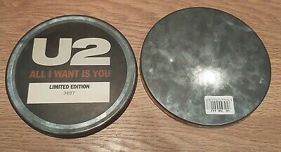 U2 All I Want Is You Rare 7  Tin Original UK 1989 Limited Edition • 35£