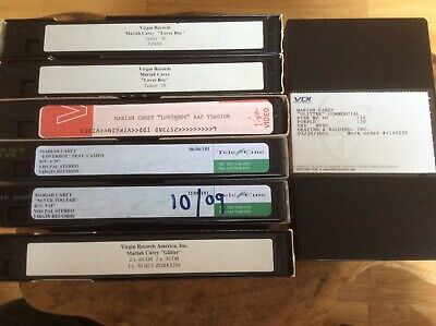 MARIAH CAREY - Glitter - 7 X Promo Only Video Collection.Superb & Very Rare. • 95£