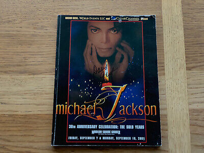 *Signed* Michael Jackson 30th Anniversary Program • 94.99£