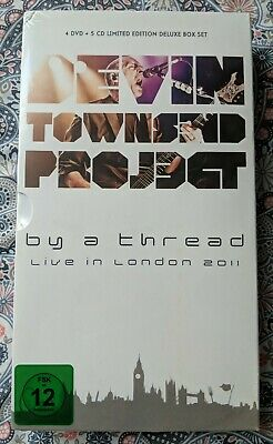 NEW SEALED Devin Townsend Project, BY A THREAD Rare Limited Edition 4 DVD + 5 CD • 46£